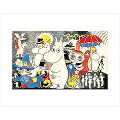 Moomins by Tove Jansson (MIni Print)