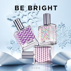 Which one is your favorite? Be Fun, Be Daring, or Be Romantic? Be Daring is my fav! Release your inner dynamo with this bold blend of spirited bergamot and blooming magnolia, warmed with sensual skin musk. Avon Perfume, Perfume Bottles, Beauty Products Gifts, Fragrance Samples, Body Powder, New Fragrances, Gifts For Teens, Smell Good, Bath And Body