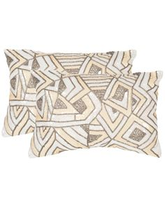 Spotted this Ricci Set of 2 Embellished Decorative Pillows on Rue La La. Shop (quickly!).