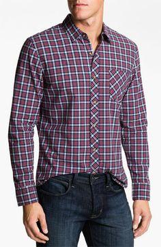 1901 Plaid Cotton Poplin Shirt #Men #NSale #Nordstrom