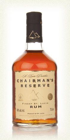 Chairman's Reserve Finest St Lucia Rum Tolle Geschenkidee mit Rum gibt esbei http://www.dona-glassy.de/Geschenke-mit-Rum:::22.html