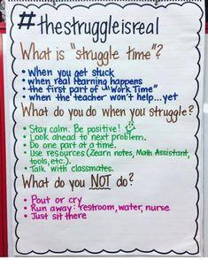 Classroom Organization Elementary Teacher Hacks Anchor Charts Ideas For 2019 Classroom Behavior, Classroom Posters, School Classroom, Classroom Ideas, Science Classroom, Future Classroom, Classroom Environment, Teaching Tips, Teaching Math