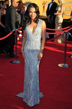 Naya Rivera at the 2012 SAG Awards - The Most Stunning SAG Awards Dresses of the Past 5 Years - Photos