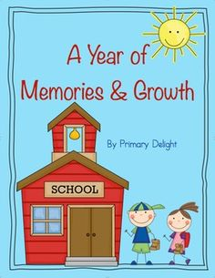 """Use this special year-long memory book/portfolio to document the growth and changes in your little learners over the course of this school year! It's also a great way to record their as memories from the school year. Students will be amazed to look back and see their growth; parents will treasure the keepsake from this special year!The set includes:*covers for preschool, pre-k, kindergarten, first and second grades, as well as a generic """"school memories"""" option (color and black/white)*pages…"""