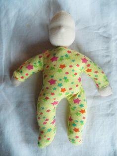 Easy 8″ Waldorf Snuggle Doll