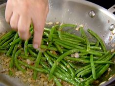String Beans with Shallots recipe from Ina Garten via Food Network