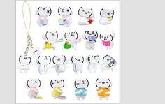 Yujin Cell Phone Emoticon Toys