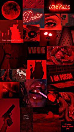 Aesthetic Wallpaper Red
