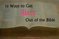 Altogether Separate: How to Get More Out of the Bible