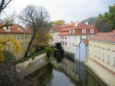 Kampa island during autumn, this is where Prague Behind The Scenes tour will take you to.. www.praguebehindthescenes.com