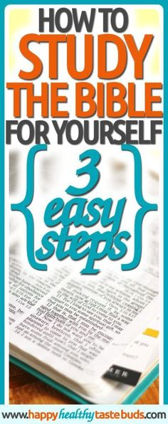 Wish you understood the Bible? Now you CAN, with these 3 best study tips for women. Click through to learn how to study the Bible for yourself!