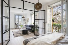 Современные маленькие пространства: квартира в Швеции (42 кв.м)
