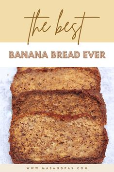 Be the star of breakfast or brunch with the best homemade banana bread! The easy recipe takes just one bowl and a few minutes to prep, but it turns out unbelievably moist, soft, and flavorful, not to mention healthy by removing any refined sugars. Use pure maple syrup to give your banana bread a rich flavor and perfect texture that your friends and family will love. #healthybananabread #bananabread #bananarecipes #kidfriendlyrecipes One Bowl Banana Bread, Homemade Banana Bread, Best Banana Bread, Healthy Banana Bread, Healthy Meals For Kids, Healthy Breakfast Recipes, Kids Meals, Snack Recipes, Dessert Recipes