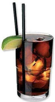 Cuba Libre (A Free Cuba) - rum and coke - via THE BEST Cuban Recipes and Cuban Food!