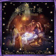 🌟Tante S!fr@ loves this📌🌟Merry Christmas Eve GIF - MerryChristmas Eve Nativity - Discover & Share GIFs Merry Christmas Jesus, Merry Christmas Images, Christmas Blessings, Christmas Scenes, Christmas Nativity, Noel Christmas, A Christmas Story, Vintage Christmas, Merry Christmas Wallpaper
