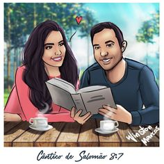 A cup of tea and studying together goalssss Caleb Y Sofia, Pioneer Gifts, Jehovah S Witnesses, High School Sweethearts, Bible Truth, Cute Images, No One Loves Me, Love And Marriage, Couple Goals