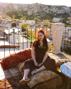 CHLOE.ROXANE - Travel : Discovering Cappadocia, Turkey and falling in love with the scenery, colors and sights. Travel Photography is slowly becoming one of my favorite things to shoot, besides portraits of course, and I cannot wait to discover more fantastic places around the world. This shot was taken at sunset on the rooftop terrace of our hotel in Göreme, Turkey and I'm in love with the colors and shadows the setting sun brings to the picture. Places Around The World, Around The Worlds, Cappadocia Turkey, Rooftop Terrace, Im In Love, Shadows, Chloe, Travel Photography, Favorite Things