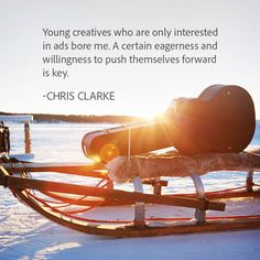 DigitasLBi Chief Creative Officer, Chris Clarke on what he is looking for when interviewing a young creative.