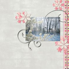 Snowflower Collection Digital Scrapbooking Kit by Jennifer Ziegler | ScrapGirls.com