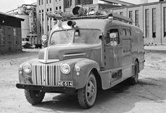 Ford  698T, 1946,  pumper, Papermill industrial fire brigade