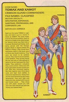 Crimson Guard Commanders Tomax & Xamot