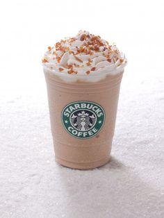 The unfortunately seasonal Caramel Brulee Frappuccino.