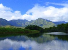 Hanalei River. Photo credit: Madeline Guyette.
