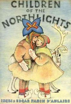 Children-of-the-Northlights-by-Ingri-D-039-Aulaire-Hardcover-Book-English