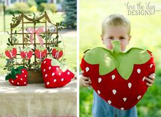 pdf strawberry pillow pattern