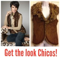 Chico's Reversible suede / faux fur vest Beautiful - New condition - No trade * No PayPal * Ask for more pics or info. Never negative surprise from my closet. Thanks. Cross posted. We ship everyday 🌺 size 1 (8-10) Chico's Jackets & Coats Vests
