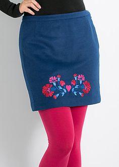 fortuneteller skirt statement blue #blutsgeschwister
