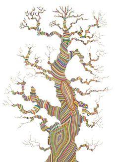 Zigzag1, by Valerie Roybal | 20x200