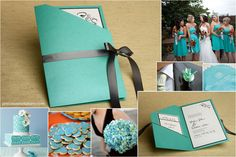 Precious Wedding Invitations specializes in quality bridal wedding invitations and stationery, handmade, pocket fold, and do it yourself kits. Tiffany Blue Invitations, Quince Invitations, Party Invitations, Wedding Invitation Layout, Wedding Stationary, Whimsical Wedding, Wedding Colors, Wedding Paper, Wedding Cards