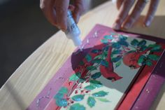Reuse and Be Crafty – Holiday Cards Get a Fresh Look. Reduce paper waste and save money: make new holiday cards from scrap paper, or attach new backs to the fronts of old cards. This can be a fun holiday craft project for your family and friends.  http://www.epa.gov/waste/wycd/winter.htm