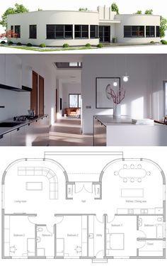 Bungalow W 126 Haus Günstig Bauen Ytong Bausatzhaus | Grundriss Bungalow |  Pinterest | African Fashion