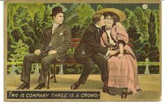 WHISPERS FROM THE PAST VINTAGE POSTCARDS TELL A STORY: Love Expressed In A Vintage Postcard 1909