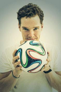 Benedict celebrates the World Cup! 2014