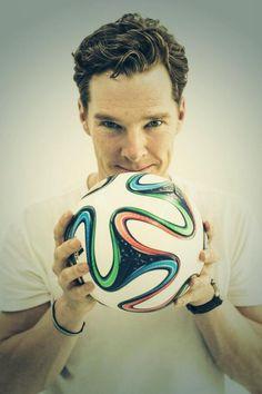 Benedict celebrates the World Cup! 2014