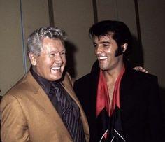 Elvis Presley and his Father Vernon Elvis Presley