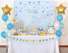 Celebrate with Cake!: Twinkle Twinkle Little Star Dessert Table (click post to view more pictures)