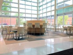 Strive Seating by KI compliments the architecture of any college and university. #iSpyKI
