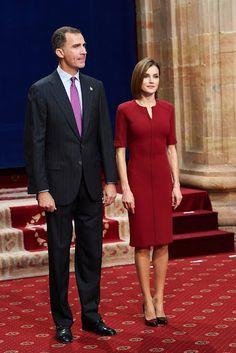 Queen Letizia and King Felipe attends Princess of Asturias Awards 2015
