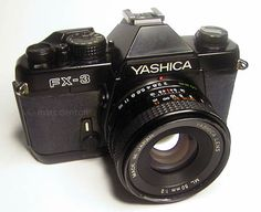 The Yashica FX-3. My grandma handed this camera down to me. I love it because can be both predictable and spontaneous.