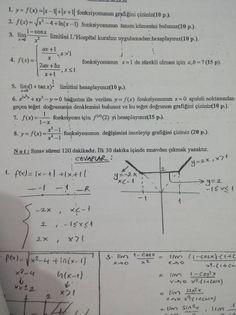 Matematik -1 Vize Soruları