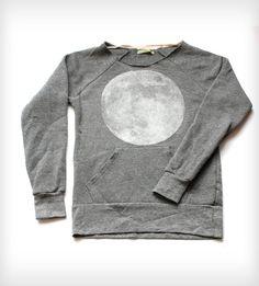 #photooftheday Full Moon Scoopneck Sweatshirt - Heather