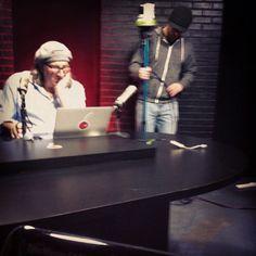 Working the cameras between shows. http://instagram.com/tastytrade #tastygram