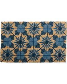 Bambeco Coir Shibori Doormat