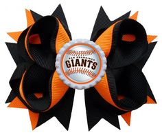 San Fransisco Giants Hair Bow