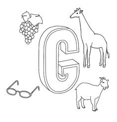 G. Coloring book ABC for iPad