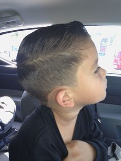 How To Style Boys Hair Interesting The Adorable Fouryearold 'style Hacker'  Pinterest  Haircuts